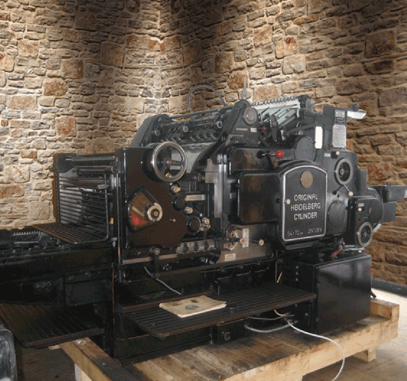 54 x 74 Kazanlı Kesim Makinesi